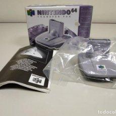 Videojuegos y Consolas: 918- NINTENDO 64 TRANFER PAK NUS A PC EUR AÑO 2000 . Lote 147181170