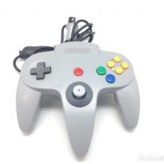Videojuegos y Consolas: NINTENDO 64 MANDO CONTROLLER GRIS ORIGINAL GREY N64 JOYSTICK COMO NUEVO R303. Lote 147308534