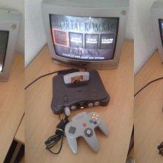 Videojuegos y Consolas: CONSOLA NINTENDO 64 COMPLETA TODO ORIGINAL PLENO FUNCIONAMIENTO NUS-001 PAL R8302. Lote 147310554