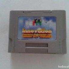 Videojuegos y Consolas: NINTENDO 64 CONTROLLER PAK INNOVATION MEMORY CARD FUNCIONANDO N64 R8304. Lote 147313854