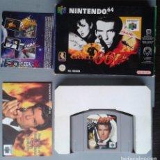 Videojuegos y Consolas: NINTENDO 64 GOLDENEYE 007 CON CAJA BOXED MUY POCO USO CIB PAL N64 R8299. Lote 147338310