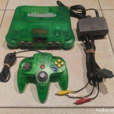 Videojuegos y Consolas: N64 NINTENDO 64 GREEN JUNGLE CON EXPANSION PAK , MANDO Y CABLES. Lote 147365838