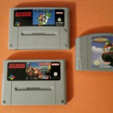 Videojuegos y Consolas: 3 JUEGOS NINTENDO (1992 Y 1996). Lote 147525220