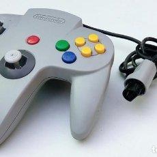 Videojuegos y Consolas: MANDO CONTROLLER NINTENDO 64 N64 GRIS ORIGINAL. Lote 148788858