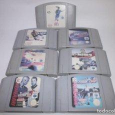 Videojuegos y Consolas: LOTE NINTENDO 64. Lote 151208098