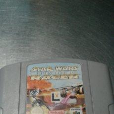 Videojuegos y Consolas: JUEGO NINTENDO 64 STAR WARS - EPISODIO I - RACER. Lote 151221572