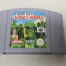 Videojuegos y Consolas: J- SARGES HEROES ARMY MEN NINTENDO 64 3DO NUS-OO6-EUR VERSION EUROPEA . Lote 151409874