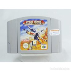 Videojuegos y Consolas: STAR WARS ROGUE SQUADRON - NINTENDO 64 - N64 - PAL. Lote 151902762