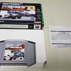 Videojogos e Consolas: J- F-1 GRAND PRIX NINTENDO 64 VERSION PAL EUROPA NUS-006 2. Lote 240874845