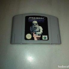 Videojuegos y Consolas: JUEGO NINTENDO 64 STARWARS. Lote 153270638