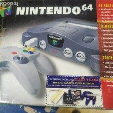 Videojogos e Consolas: NINTENDO 64 EN CAJA Y FUNCIONANDO. Lote 153917334