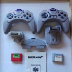 Videojuegos y Consolas: LOTE NINTENDO 64 E INSTRUCCIONES.. Lote 154441770