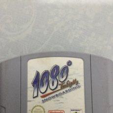 Videojuegos y Consolas: JUEGO DE NINTENDO 64 1080 SNOWBOARDING. Lote 154897140