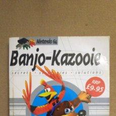 Videojuegos y Consolas: GUÍA EN INGLÉS DE BANJO-KAZOOIE, EN PERFECTO ESTADO. Lote 158598078