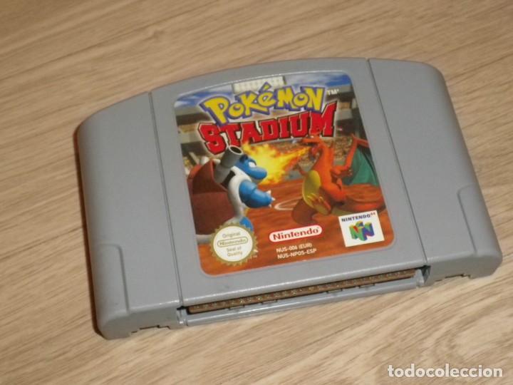 N64 NINTENDO 64 JUEGO POKEMON STADIUM (Juguetes - Videojuegos y Consolas - Nintendo - Nintendo 64)