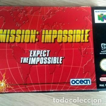 Videojuegos y Consolas: NINTENDO 64 JUEGO MISSION : IMPOSSIBLE VERSIÓN PAL - Foto 2 - 160087654