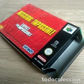 Videojuegos y Consolas: NINTENDO 64 JUEGO MISSION : IMPOSSIBLE VERSIÓN PAL - Foto 3 - 160087654