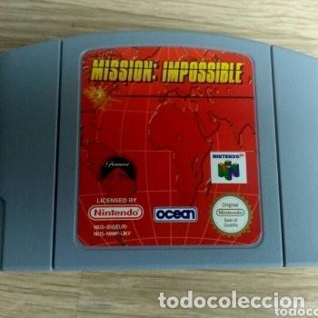 Videojuegos y Consolas: NINTENDO 64 JUEGO MISSION : IMPOSSIBLE VERSIÓN PAL - Foto 5 - 160087654