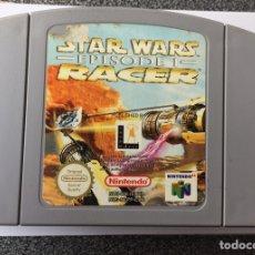 Videojuegos y Consolas: JUEGO NINTENDO 64 STAR WARS EPISODIO RACER. Lote 160247602
