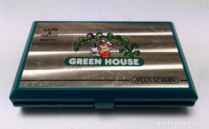 MÁQUINA NINTENDO GAME & WATCH - GREEN HOUSE. (Juguetes - Videojuegos y Consolas - Nintendo - Nintendo 64)