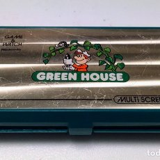 Videojuegos y Consolas: MÁQUINA NINTENDO GAME & WATCH - GREEN HOUSE.. Lote 220948680