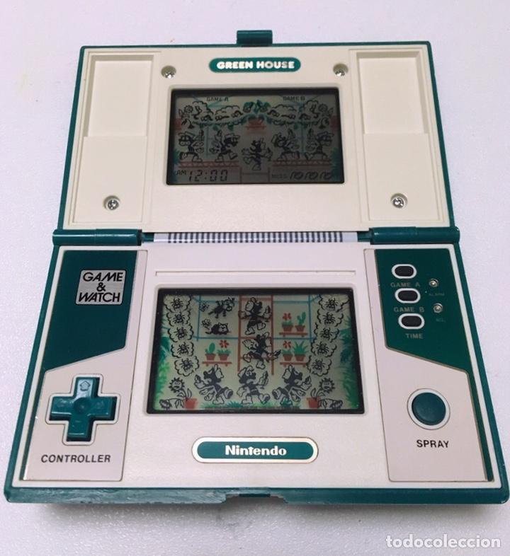 Videojuegos y Consolas: MÁQUINA NINTENDO GAME & WATCH - GREEN HOUSE. - Foto 2 - 220948680
