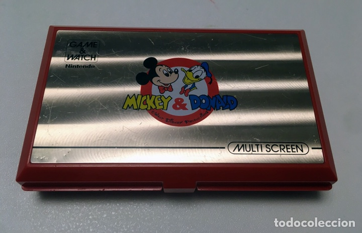 Videojuegos y Consolas: Game & Watch Nintendo Mickey & Donald 1982 - Foto 1 - 160313014