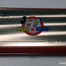 Videojuegos y Consolas: GAME & WATCH NINTENDO MICKEY & DONALD 1982. Lote 160313014