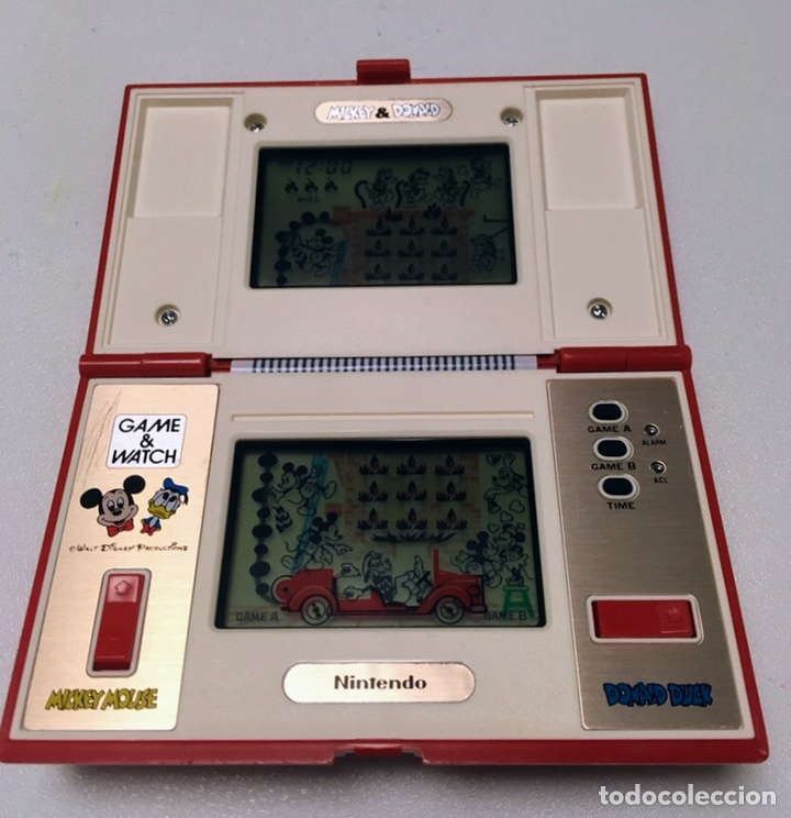 Videojuegos y Consolas: Game & Watch Nintendo Mickey & Donald 1982 - Foto 2 - 160313014
