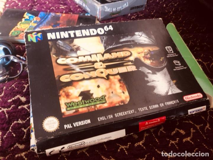CAJA NINTENDO 64 COMANDÁND Y CONQUER (Juguetes - Videojuegos y Consolas - Nintendo - Nintendo 64)