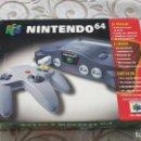 Videojuegos y Consolas: CONSOLA N64 COMPLETA COLECCIONISTA NINTENDO. Lote 161315378