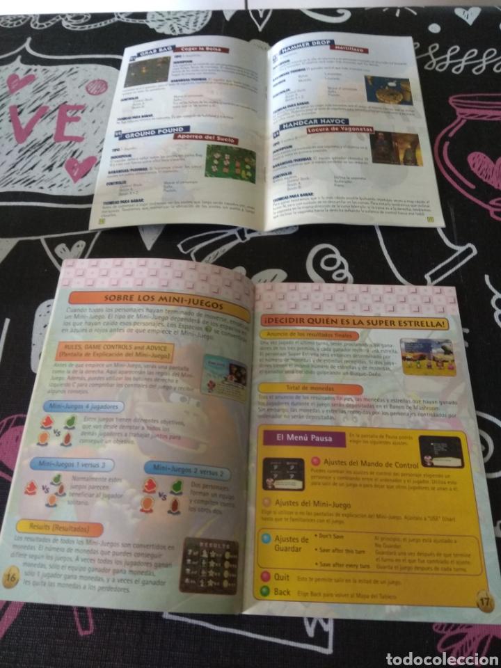 Videojuegos y Consolas: Cartucho, manual de instrucciones y guia de juegos Mario party Nintendo64 - Foto 7 - 164918024
