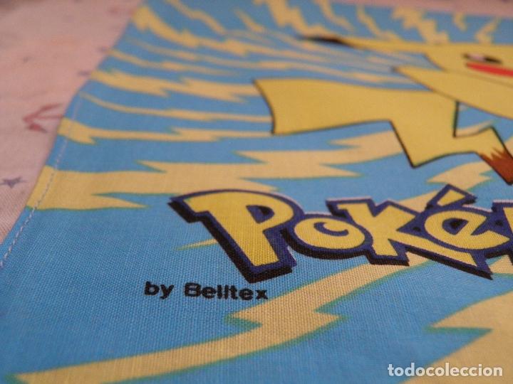 Videojuegos y Consolas: PAÑUELO POKÉMON,BY BELLTEX,1998 NINTENDO.TM & NINTENDO,A ESTRENAR - Foto 2 - 165510306