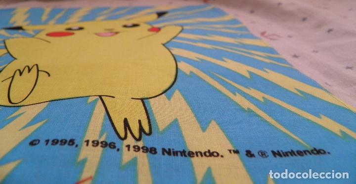 Videojuegos y Consolas: PAÑUELO POKÉMON,BY BELLTEX,1998 NINTENDO.TM & NINTENDO,A ESTRENAR - Foto 3 - 165510306