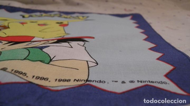 Videojuegos y Consolas: PAÑUELO POKÉMON,BY BELLTEX,1998 NINTENDO.TM & NINTENDO,A ESTRENAR - Foto 3 - 172889614