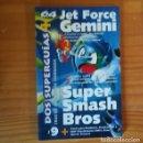 Videojuegos y Consolas: JET FORCE GEMINI / SUPER SMASH BROS, SUPERGUIAS. SUPLEMENTO REVISTA 64 MAGAZINE. NINTENDO 64. Lote 165716894
