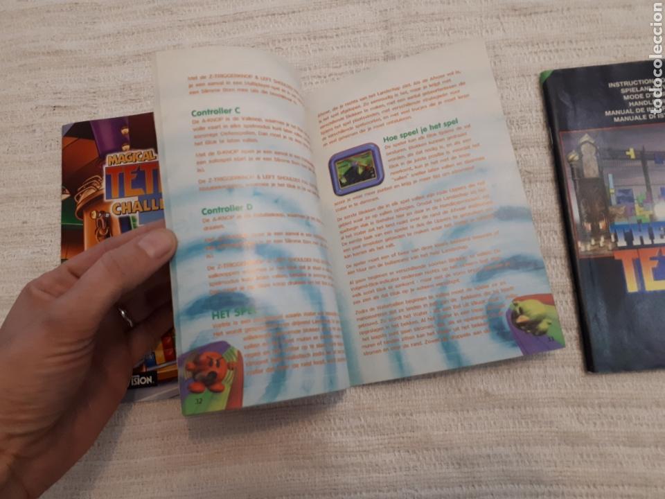 Videojuegos y Consolas: Lote Wetrix, The New Tetris, Magical Tetris Challenge. Nintendo 64 antiguo manual instrucciones - Foto 3 - 166127934