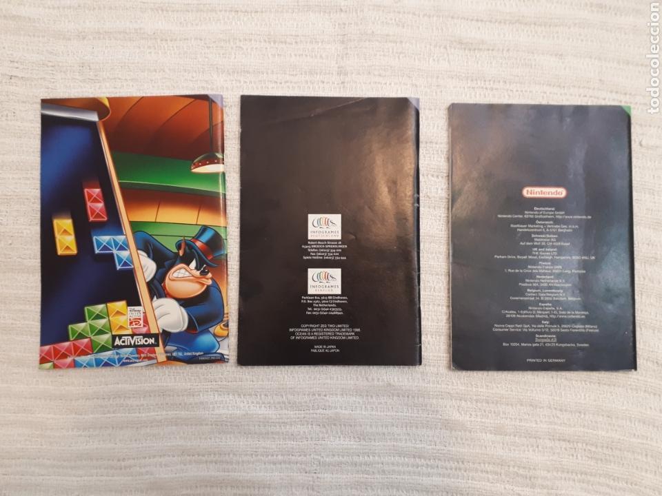 Videojuegos y Consolas: Lote Wetrix, The New Tetris, Magical Tetris Challenge. Nintendo 64 antiguo manual instrucciones - Foto 5 - 166127934