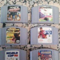 Videojuegos y Consolas: LOTE JUEGOS NINTENDO 64. Lote 166788598