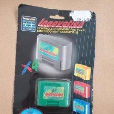 Videojuegos y Consolas: MEMORIA PARA MANDO. COMPATIBLE NINTENDO 64. Lote 169003800