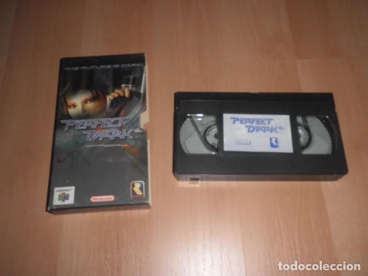 VHS GAMECUBE PERFECT DARK (Juguetes - Videojuegos y Consolas - Nintendo - Nintendo 64)