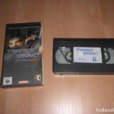 Videojuegos y Consolas: VHS GAMECUBE PERFECT DARK. Lote 234526830