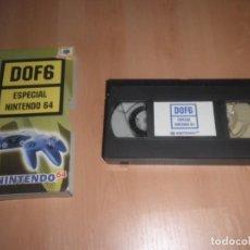 Videojuegos y Consolas: VHS DOF 6 ESPECIAL NINTENDO 64. Lote 171994030
