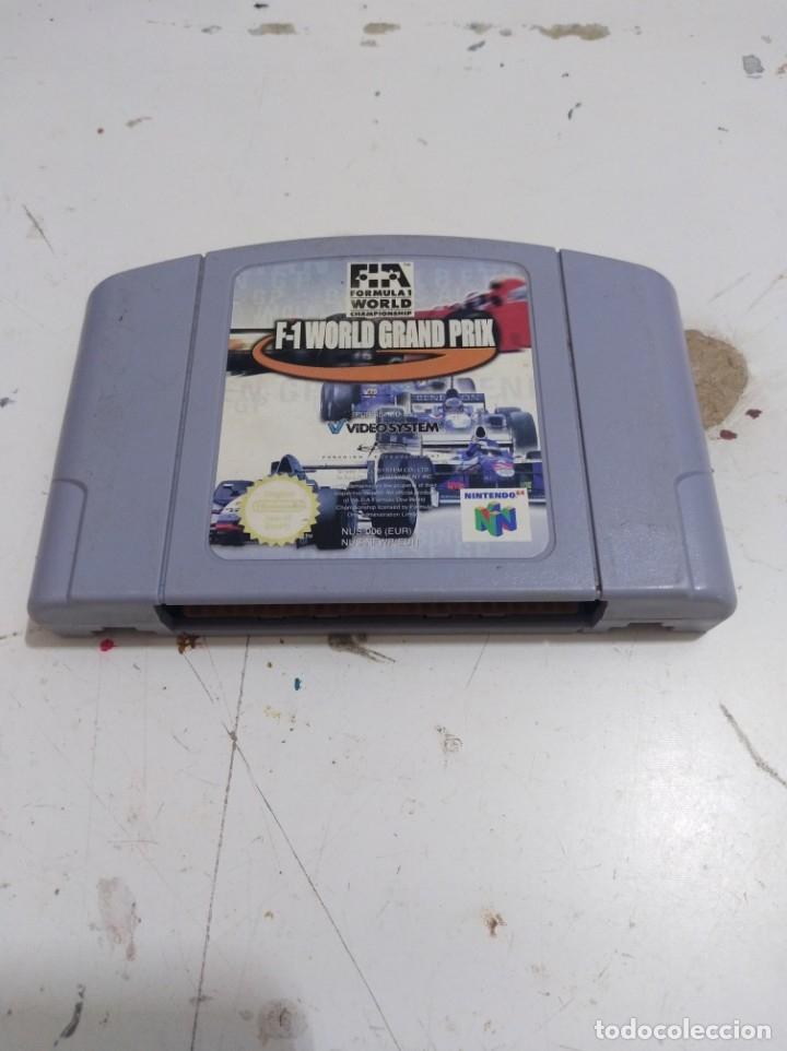 F 1 JUEGO NINTENDO 64 WORLD GRAND PRIX (Juguetes - Videojuegos y Consolas - Nintendo - Nintendo 64)