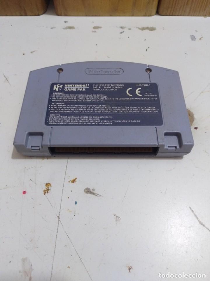 Videojuegos y Consolas: F 1 juego Nintendo 64 World grand prix - Foto 2 - 223144213