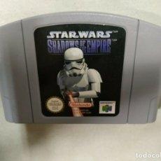 Videojuegos y Consolas: STAR WARS SHADOWS OF THE EMPIRE - NINTENDO 64 - N64 - PAL EUR -. Lote 172757753