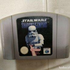 Videojuegos y Consolas: STAR WARS SHADOWS OF THE EMPIRE - NINTENDO 64 - N64 - PAL EUR -. Lote 172758033