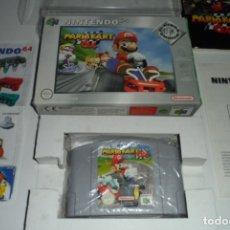 Videojuegos y Consolas: MARIO KART NINTENDO 64 N64 COMPLETO (VER DESCRIPCIÓN). Lote 172665173