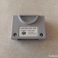 Videojuegos y Consolas: CONTROLLER PAK N64 NINTENDO 64. Lote 173489323