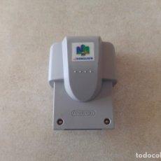 Videojuegos y Consolas: RUMBLE PAK N64 NINTENDO 64. Lote 173489409